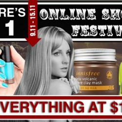 Deal.com.sg: 11.11 Online Shopping Festival --- Everything at S$11 & Extra 11% OFF Coupon