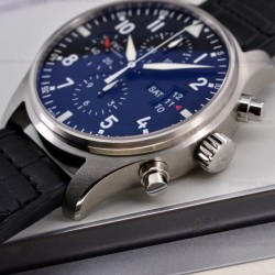 JOMASHOP: IWC Pilot Black Dial Chronograph Automatic Men's Watch