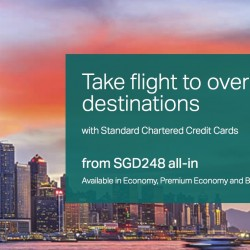 Cathay Pacific: Special Economy Fares with Standard Chartered Credit Cards