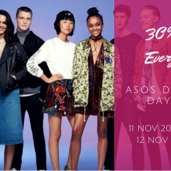 ASOS: Double 11 Sale 30% OFF Everything