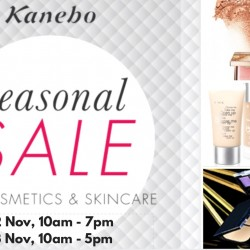 Kanebo: Seasonal Sale on Cosmetics & Skincare