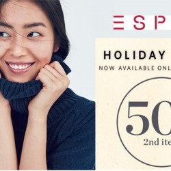 Esprit: Holiday Special 50% OFF 2nd Piece