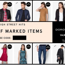 Zalora: 25% OFF High Street Brands (Topshop, Dorothy Perkins, Warehouse & more)