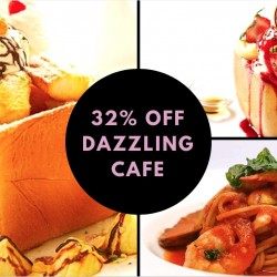 Dazzling Cafe: 32% OFF Pasta/Risotto Meal with Signature Honey Toast