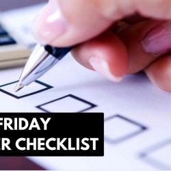 Useful Shopping Checklist for Black Friday!