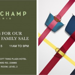Longchamp: Friends & Family Sale