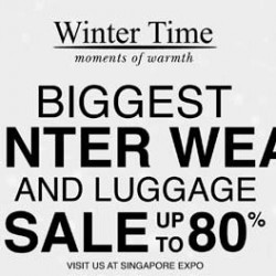 Singapore Expo: Winter Time Extravagant Sale Expo Clearance Event