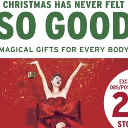 The Body Shop: 20% OFF Storewide for DBS/POSB Cards