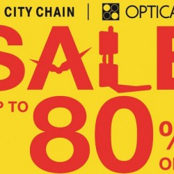City Chain & Optical 88: Sale up to 80% OFF
