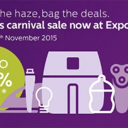 Singapore Expo: Philips Carnival Sale