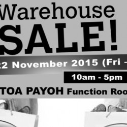 Scholl: Warehouse Sale