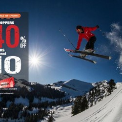 World of Sports's: Take 40% OFF Discount + 10% OFF Members @ Christmas Shopping
