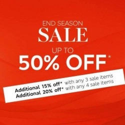 Marks & Spencer: Up to 50% off + Additional Up to 20% OFF
