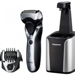 Amazon: Panasonic ES-RT97-S Men's Electric Shaver and Trimmer with Cleaning System, Silver