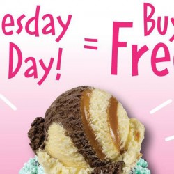 Baskin-Robbins: Dress in Pink Today and Get 1-for-1 Ice Cream