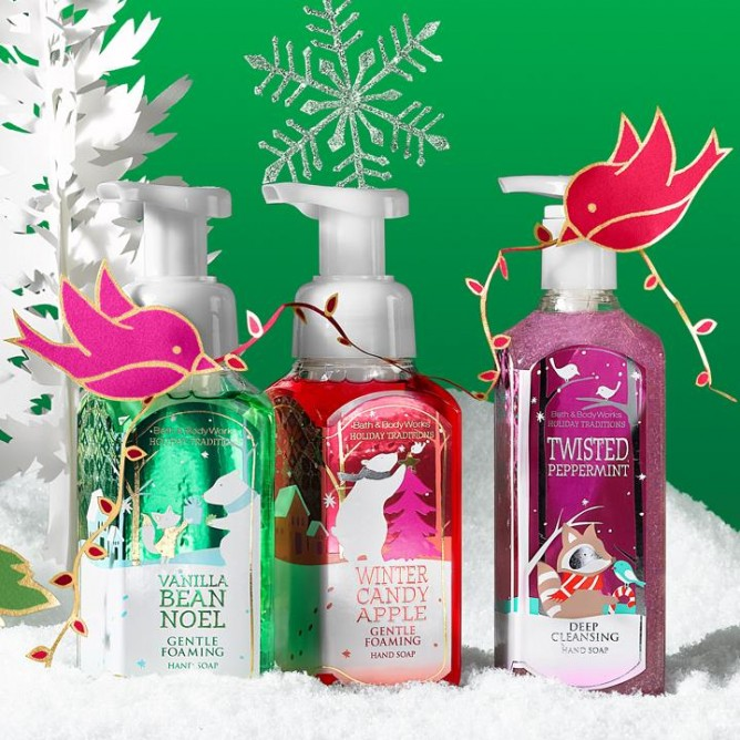 Bath and body works the perfect christmas