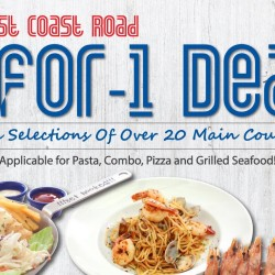 Fish & Co: 1-for-1 Main Course at East Coast Outlet