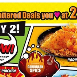 Long John Silver's: 2 Combo Meals for $10