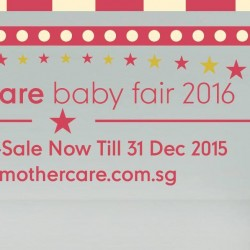 Mothercare: Baby Fair 2016 up to 70% OFF