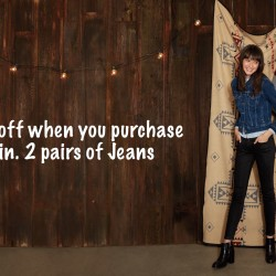 Levi's: Get 50% OFF With Purchase of Min. 2 Pairs of Jeans