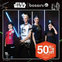 Bossini Be Happy: 50% OFF min. 2 pcs