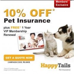 Pet Lovers Centre: 10% OFF Pet Insurance