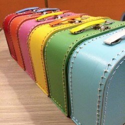PaperMarket: 20% OFF Colorful Suitcases