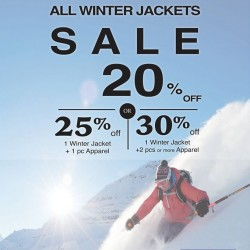 Outdoor Life: All Winter Jackets @20% OFF