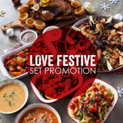 The Soup Spoon: LOVE Festive Set Promotions