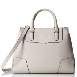 Amazon: Rebecca Minkoff Amorous Shoulder Bag, Dove Grey, One Size