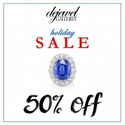 Dejewel Galleria Fine Jeweler: 50% OFF Holiday Sale
