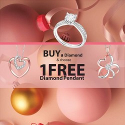 CITIGEMS: Get Diamond with Free 1 Diamond Pendant