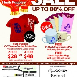 Hush Puppies Apparel: Up to 80% OFF Warehouse Sale