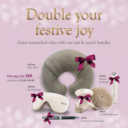 Osim: Magical Christmas Gift Bundle @Take 2 for $68.