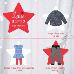 Mothercare: Last Chance To Grab Your 3 for Price of 2 Fashion Offers
