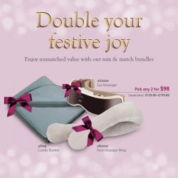 Osim: Magical Christmas Gift Bundle @2 for $98