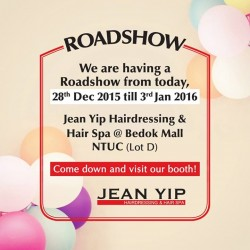 Jean Yip: Roadshow _ Hairdressing & Hair Spa