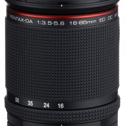 Amazon: Pentax HD Pentax DA 16-85mm Lens for Pentax KAF Cameras