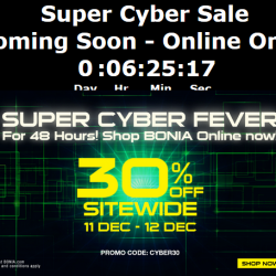 Bonia: 30% OFF Sitewide