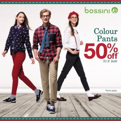 Bossini Be Happy: 50% OFF Colour Pants