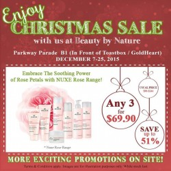 Beauty By Nature: Any 3 for $69.90 and Save Up to 51% OFF