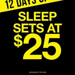 La Senza: Sleep Sets @$25