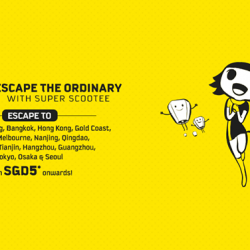 FlyScoot: Escape the Ordinary with Super Scootee