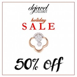 Dejewel Galleria Fine Jeweler: 50% OFF for Holiday Sale