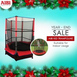 AIBI Fitness: AIBI Kid Trampoline Suitable for Indoor Usage