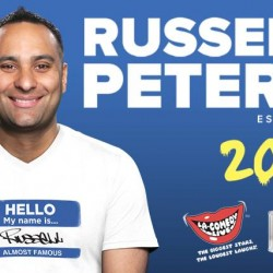 SISTIC: Russell Peters Almost Famous World Tour 2016