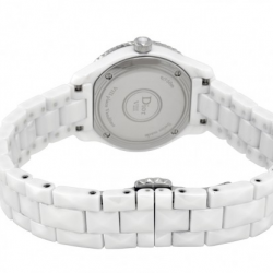 Jomashop: Dior VIII Mother of Pearl White Hi Tech Ceramic Diamond Ladies Watch CD1221E4C001