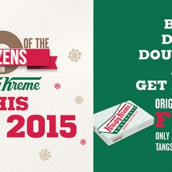 Krispy Kreme: 1-for-1 Dozen Original Glazed Doughnuts on 12.12
