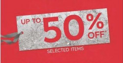 Marks & Spencer: Up to 50% OFF Selected Items + $20 Gift Voucher