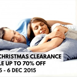 Tempur: Christmas Clearance Sale up to 70% OFF